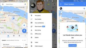 谷歌地圖位置服務