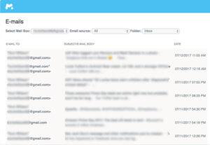 監視電子郵件